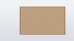 2 PCS General Purpose Printed Circuit Board (PCB)/Perforated PCB Boards