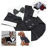 longlongpet Pet Bekleidung Hund Katze Kleidung Anzug Smoking mit Schleife Hochzeit Anzüge Party Kostüme für Kleine Mitte Große Hunde