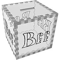 Preisvergleich für Azeeda 'BFF' Klar Sparbüchse / Spardose (MB00032817)