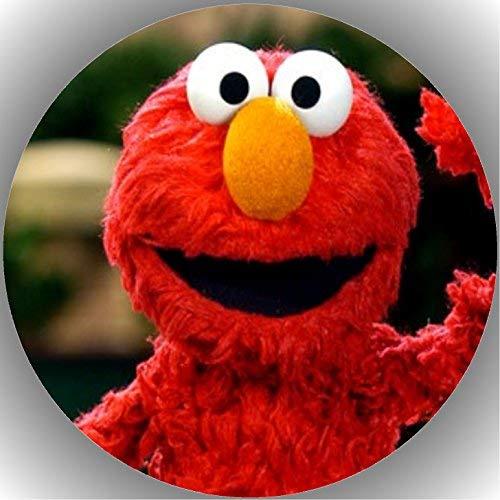 er Tortenbild Geburtstag Sesamstraße Elmo T7 ()