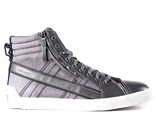 Diesel Stivaletto Uomo Sneaker D String Plus Zip Castlerock / black_41