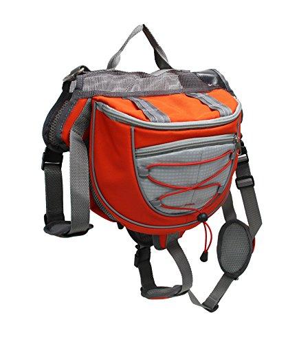 cksack Wandern Geschirr Carrier Zubehör Camping & Reisen verstellbar Hund Sattel-Tasche für mittelgroße und große Hund (Bulk-rucksäcke)