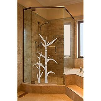 Sichtschutz Aufkleber Folie Glasdekorfolie Bad Dusche Duschwand ...