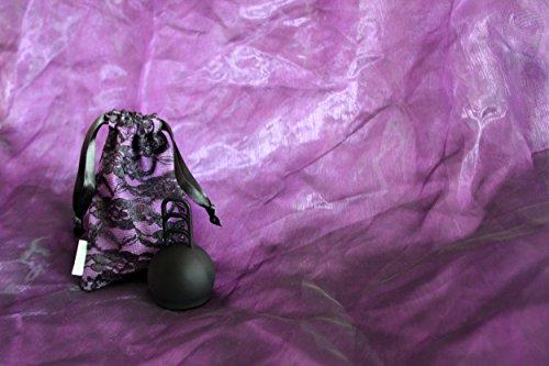 Merula Cup midnight (schwarz) - Menstruationstasse aus medizinischem Silikon - 4