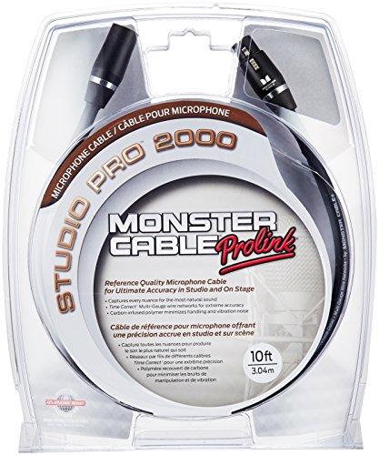 Monster Sp2000 Cable (Monster Cable SP2000-M-10 XLR Male auf XLR Female Instrumentenkabel (3 m))
