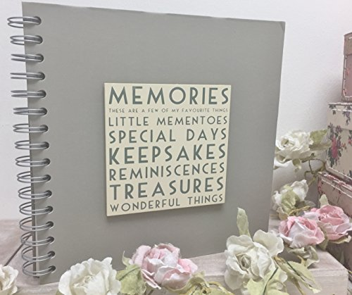 Words Memories Scrapbook Photo Album