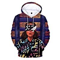 2019 Stranger Things 3D Hoodies Shirt Sweatshirt Autumn Winter Long Sleeve Harajuku Hip Hop Streetwear (design 2,XXS)