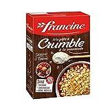 Francine Ma Pâte à Crumble à la Cassonade 300g (lot de 6)...