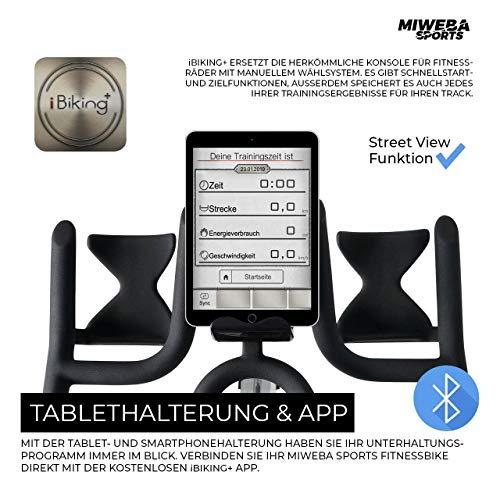 Ergometer Heimtrainer Fahrrad + App-Steuerung Bild 2*