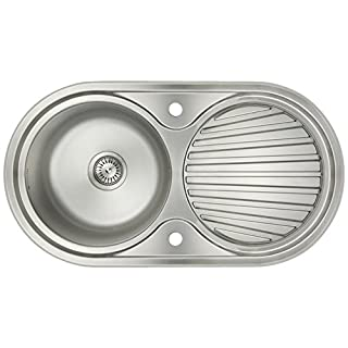 Astini Zerox 1.0 Bowl Brushed Stainless Steel Kitchen Sink & Waste AS5317