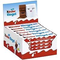 einzeln verpackte Schokoriegel, zartschmelzende Vollmilchschokolade mit Milchcremefüllung, ohne Farb- und Konservierungsstoffe (kinder Riegel - 36 Einzelriegel  x 21g)