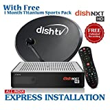 #10: Dishtv Nxt HD+ Recorder Set Top Box With 1 Month Titanium Sports Pack plus full on hd tamil pack