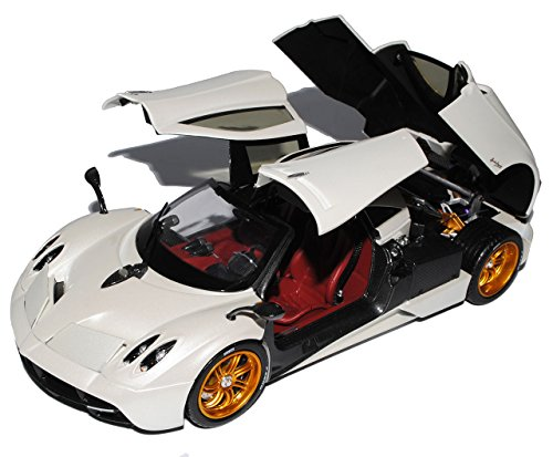 pagani-huayra-coupe-weiss-2011-1-18-gta-welly-modell-auto