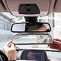 car-styling Teile ABS Chrom Innen Rückspiegel Dekoration Trim Zubehör
