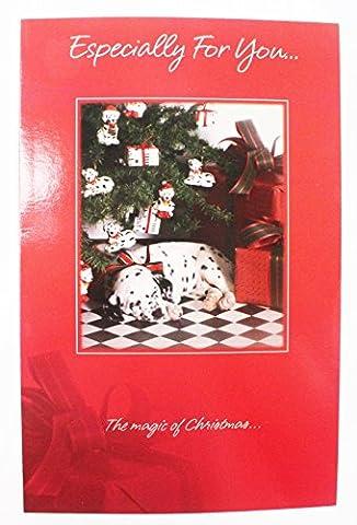 Weihnachten Card Speziell für Sie, Freunde öffnen Hund Traditionelle Grußkarte Vers