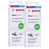 Bosch VeroSeries TCZ8001 Reinigungstabletten 2in1 - 10 Tabletten (2er Pack)