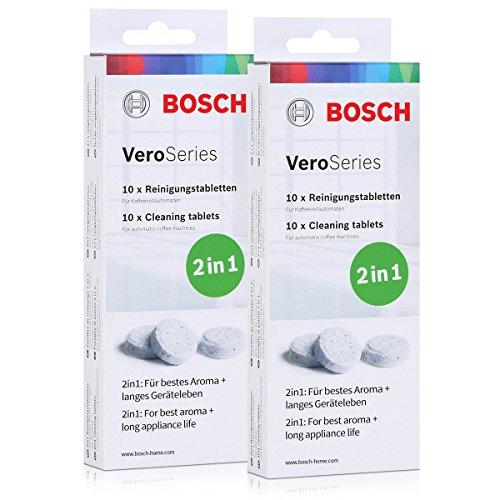 Bosch VEROS ProSeries tcz8001pastillas de limpieza 2en 1-10pastillas (2unidades)