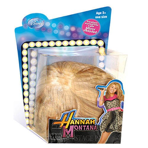PARTY DISCOUNT Perücke Hannah Montana, blond für Kinder
