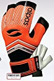 Alpas Torwarthandschuhe PowerSafe V2 Orange (Fingersave) Gr. 3 bis 12 (7)
