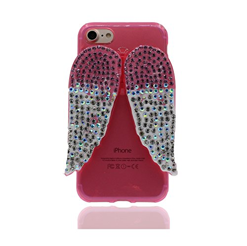 """iPhone 7 Plus (5.5 """") Coque, [Lucky Cat TPU Matériau Flexible Chat chanceux] Durable élégant étui, la poussière égratignures résistant, iPhone 7 Plus Case, Noir noir 3"""