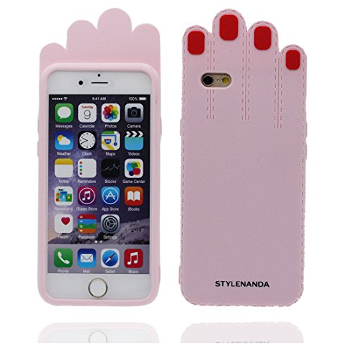 "iPhone 7 (4.7"") Coque, [ TPU Material Flexible Popcorn ] Étui pour iPhone 7 (4.7""), Dust Slip Scratch Resistant, Case souple durable flexible Couleur 3"