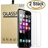 Schutzfolie für iPhone 8 iPhone 7, [2 Stück] ApoGo Panzerglas mit 3D Touch Kompatibel-0.33mm, 4.7 Zoll, 9H Härte, 2.5