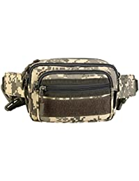 Phenovo Waist Pack Outdoor Sports Waist Bag/ Fanny Pack/ Shoulder/ Messenger Bag Workout Pouch For Hiking Climbing...