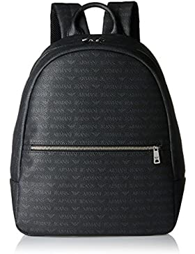 Armani Jeans Herren Backpack Rucksack, 39 x 12 x 31 cm