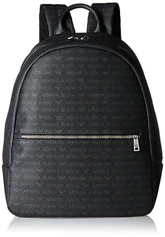 Armani Jeans Backpack, Sacs à dos homme, Schwarz (Nero), 39x12x31 cm (B x H T)
