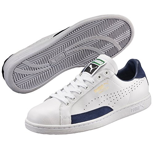 Puma Match 74 UPC, Baskets Mode Mixte Adulte, Blanc (White-Blue Depths), 45 EU