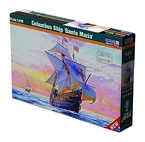 MisterCraft Kit de Modelo Santa Maria Columbus Ship a Escala 1: 270