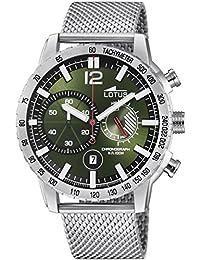 c7bee9baff76 Lotus Reloj Cronógrafo para Hombre de Cuarzo con Correa en Acero Inoxidable  10137 1
