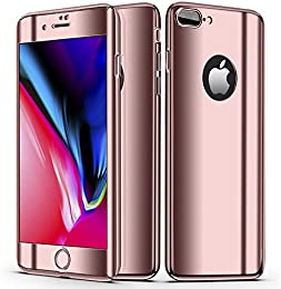 coque iphone 8 plus 360 miroir
