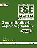 ESE 2018 Paper I General Studies & Engineering Aptitude Guide