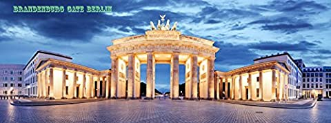 Brandenburg Gate, Berlin, Germany - panorama - PHOTO FRIDGE
