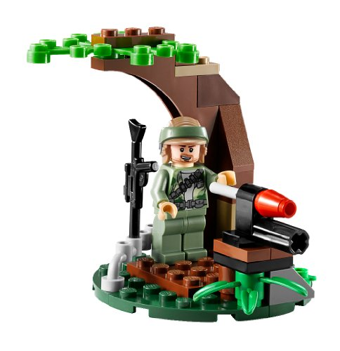 Imagen 7 de LEGO Star Wars - Endor Rebel Trooper & Imperial Trooper Battle Pack (9489)