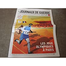 """LES JOURNAUX DE GUERRE N°57 !! """"LES JEUX OLYMPIQUES à PARIS"""""""
