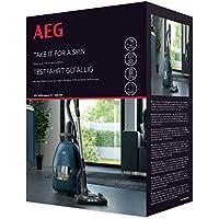 AEG ASKVX9 Starter Kit para El Aspirador con Bolsa Vx9 Azul
