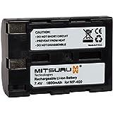 Mitsuru® 1600mAh batterie de rechange pour Minolta NP400 NP-400 , Konica Minolta A-7 Digital , Dimage A1 A2 , Dynax 5D 7D , Sigma SD1 SD14 SD15