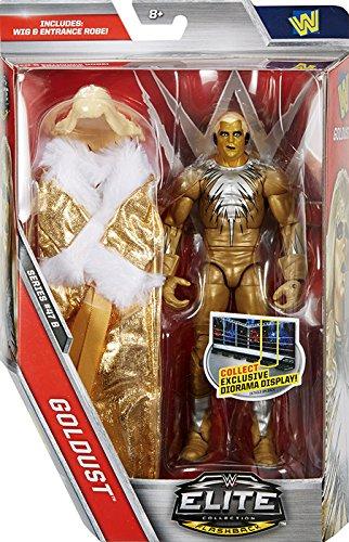 Goldust mit Perücke und Eingang Kleiderschrank - Elite 47.5 - WWE Actionfigur