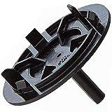 Spares2go timer manopola di controllo quadrante interruttore per lavastoviglie Miele (nero)
