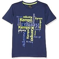 Kempa Paint Camiseta Casual, niños, Azul Profundo, 128