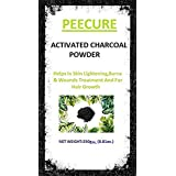 [Sponsored]Peecure Activated Charcoal Powder For Skin, Face Mask,Hair Shampoos,Black Head Removal Mask,Skin Treatment,Skin...