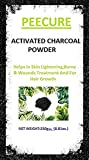 #8: Peecure Activated Charcoal Powder 250 gm For Skin, Face Mask,Hair shampoos,Black Head Removal Mask,Skin treatment,Skin care