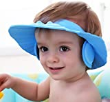 ALPYOG Baby Bath Shower Cap (Blue)