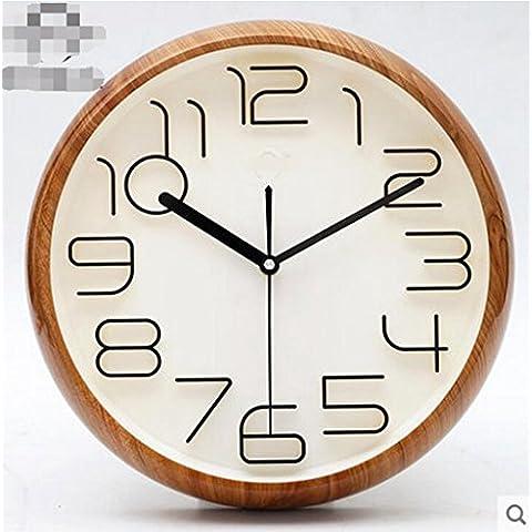 WEISHENMEN Stereo Digital, moderno salón creativa reloj de pared, idílico, simple, Silencio, Tono, reloj de cuarzo, elegante dormitorio BULAIDANZI