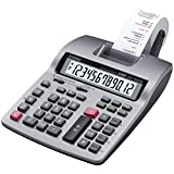 Casio HR-150TM Two-Color Printing Calculator, 12-Digit LCD, Black/Red by Casio