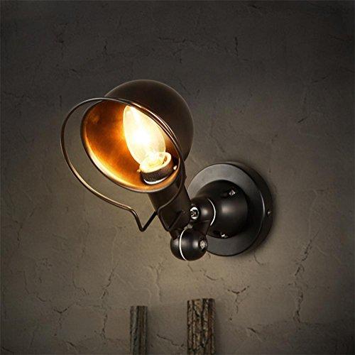 Xh&Yh American Industrial Restaurant Swing Arm Licht Retro Bar Schmiedeeisen Wandleuchte -