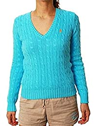 Ralph Lauren - Pull - Femme Turquoise Turquoise Small