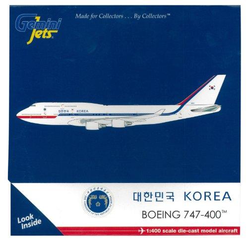 zwilling-1-400-b747-400-korean-air-force-10001-japan-import-das-paket-und-das-handbuch-werden-in-jap
